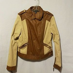 Forever21 utility jackets.